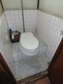 はらだ荘 201号室のトイレ