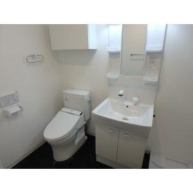 Sempliceときわ台 303号室の洗面所