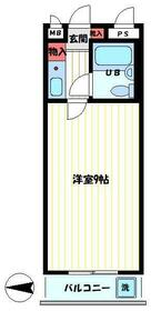 ソリッドリファイン東新宿 303号室の間取り