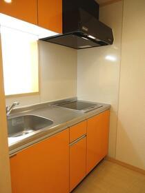 目白クイーンズコート 204号室のキッチン