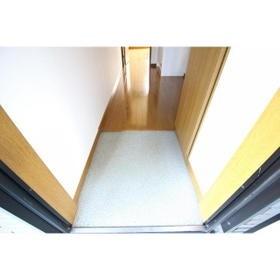 アムール小松 102号室の玄関
