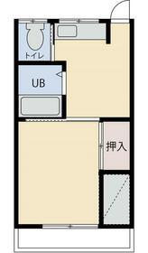 豊島園ビル 4F-B号室の間取り