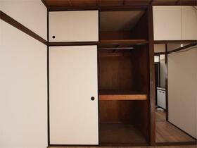 小林荘 205号室の収納