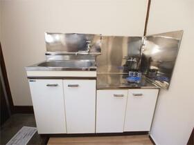 小林荘 205号室のキッチン