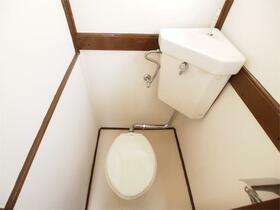小林荘 205号室のトイレ