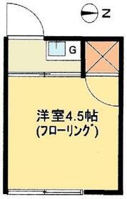 高橋荘・7号室の間取り