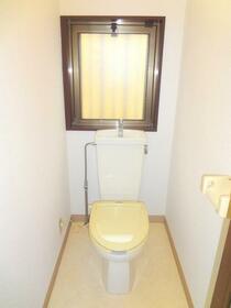 ローリエ矢来町 203号室のトイレ
