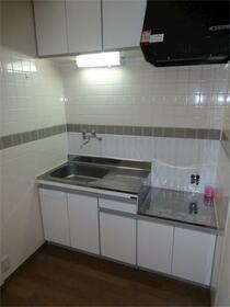 バーレルハイツ 202号室のキッチン