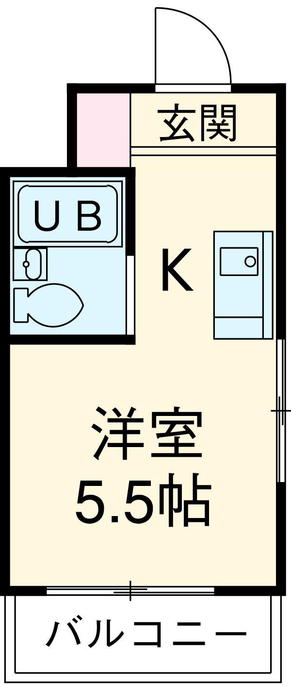 フォーラムイン・東京・1001号室の間取り