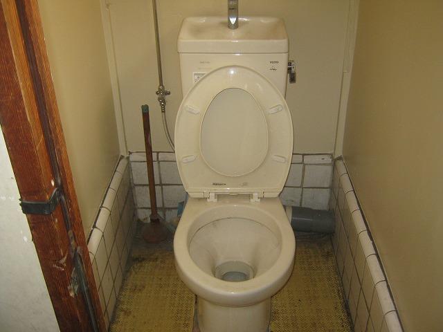 和泉荘 5号室のトイレ