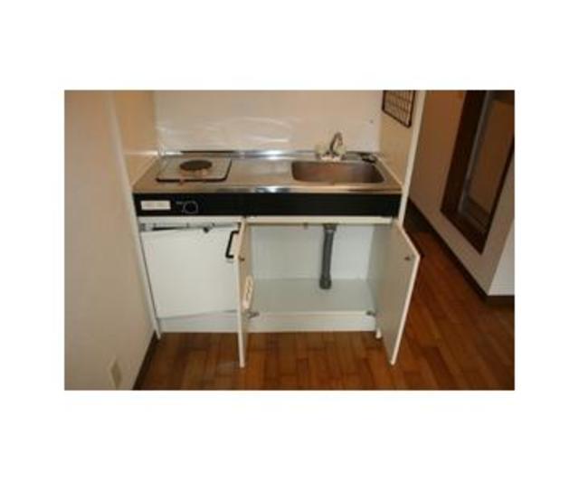 フラット練馬 203号室のキッチン