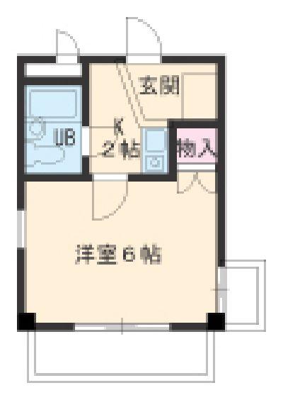 ヒルトップ覚王山 3C号室の間取り