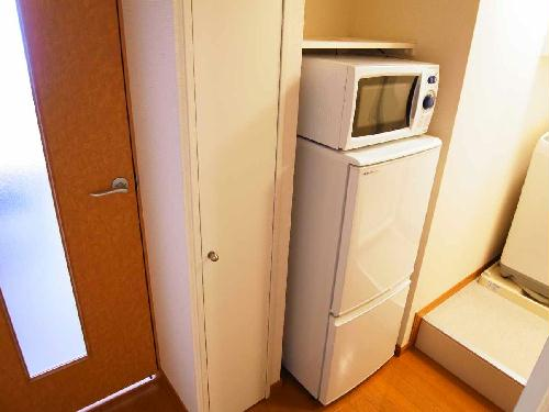 レオパレスアルファヒルズ 208号室のキッチン