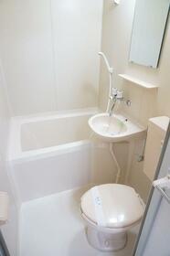 来夢ハイツ B-1号室の風呂