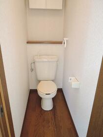 田中ハイツ 101号室のトイレ