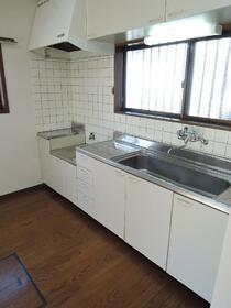 田中ハイツ 101号室のキッチン