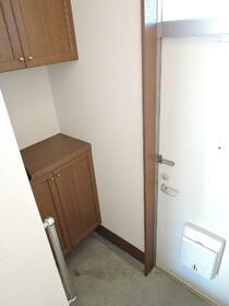 田中ハイツ 101号室の玄関