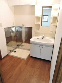 田中ハイツ 101号室の洗面所