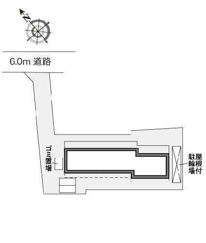 レオパレスグリーンリバー2 202号室の地図