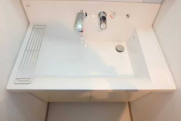 ファヴォール白壁 601号室の洗面所