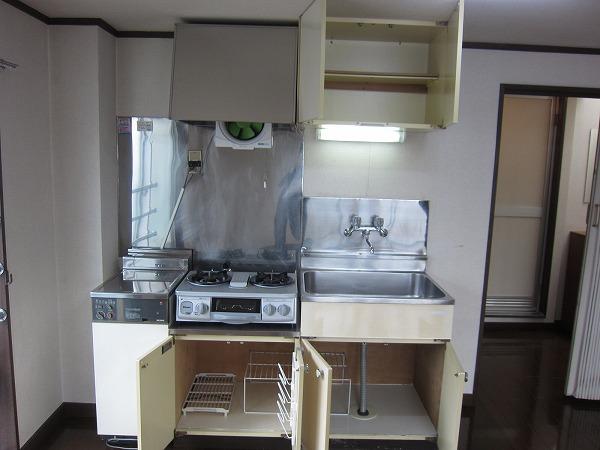第2恩田ビル 205号室のキッチン