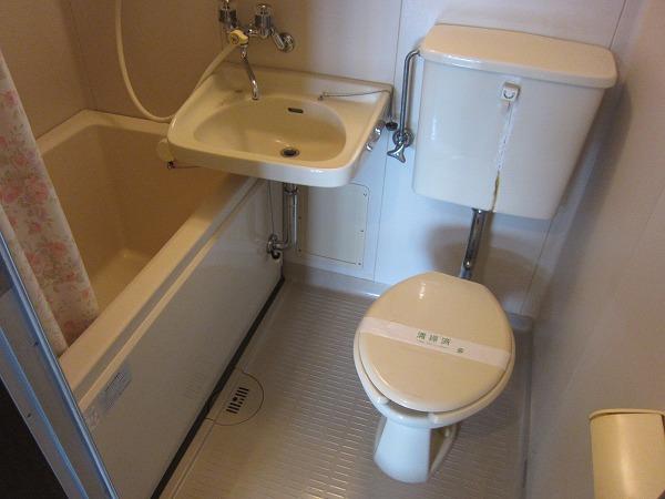 第2恩田ビル 205号室のトイレ