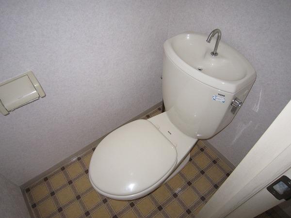 コーポ相澤A 101号室のトイレ