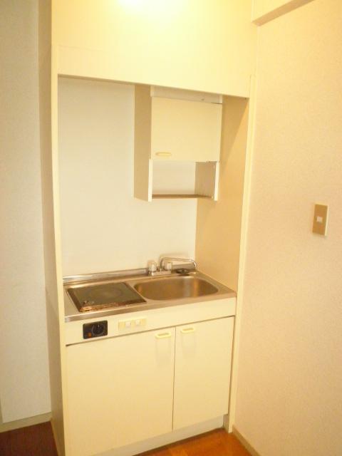 Komodokasa Miwa 301号室のキッチン