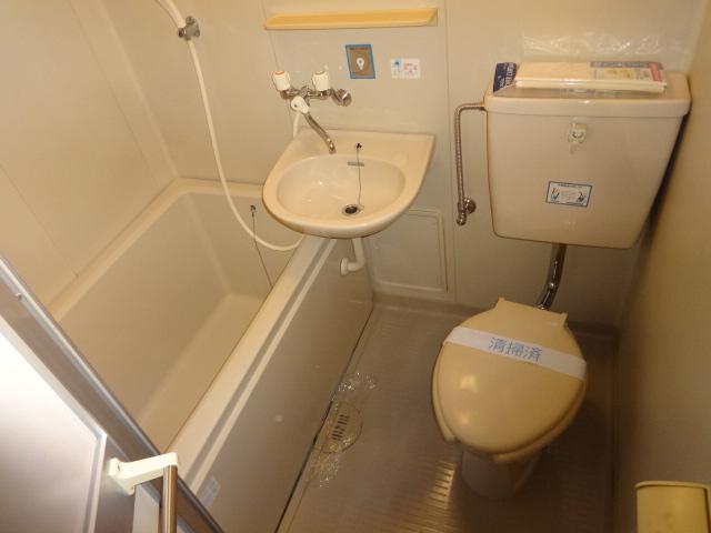 Komodokasa Miwa 301号室の洗面所