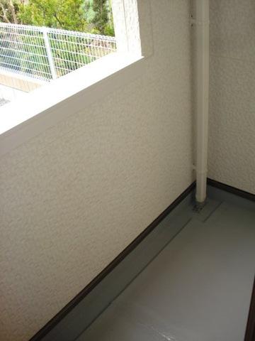 フォレストアーク大森Ⅱ 102号室のバルコニー