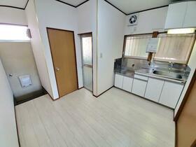 大国荘 105号室のキッチン