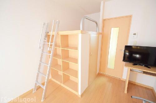 レオパレスコンフォニティ 204号室の収納