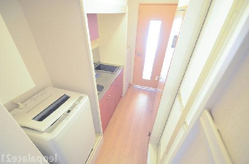 レオパレスコンフォニティ 204号室のキッチン