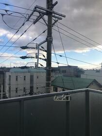 コア菊坂 401号室の景色