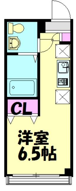 レガーロ千葉駅前・204号室の間取り
