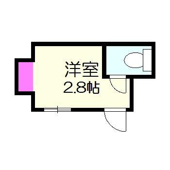 第5藤栄ビル・101号室の間取り