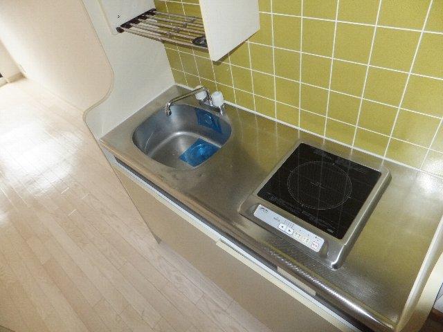 メゾン・ド・イマージュ 207号室のキッチン