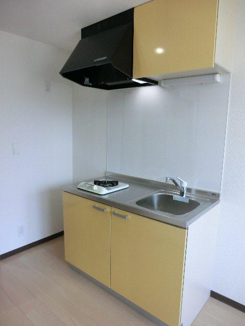 LA LUCE 111号室のキッチン