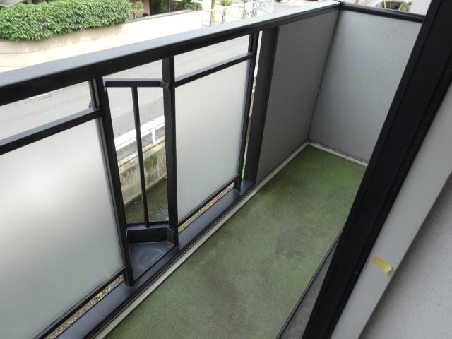 サンビレッジ桂 B-205号室のバルコニー