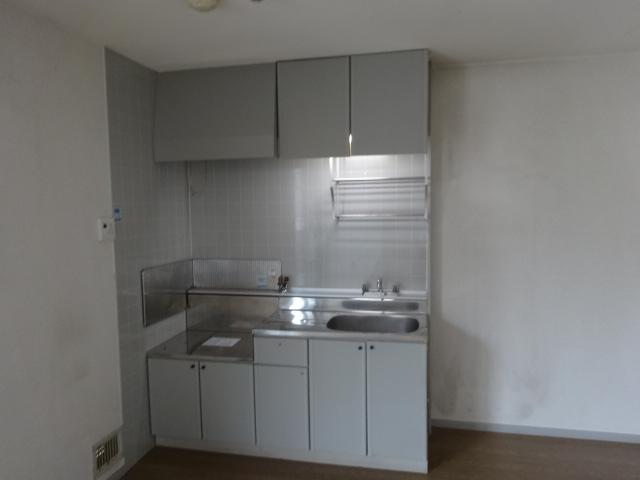 サンビレッジ桂 B-205号室のキッチン