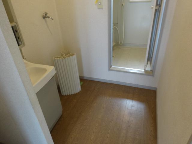 サンビレッジ桂 B-205号室の洗面所