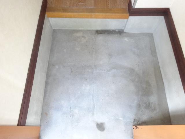 長曽ハイツⅠ 3号室の玄関