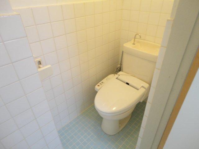 ロイヤルコーポ桂 202号室のトイレ