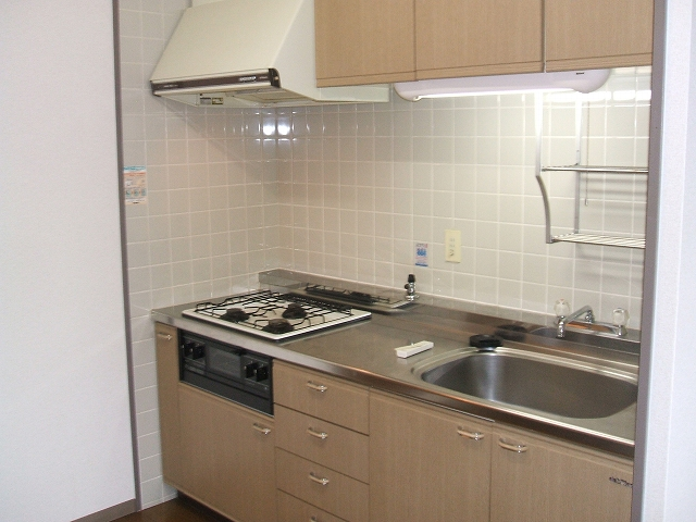 セント・ルークルス 104号室のキッチン