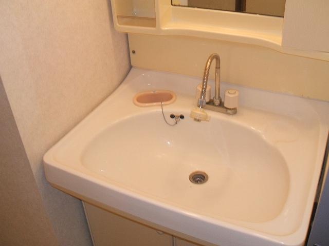 セント・ルークルス 104号室の洗面所