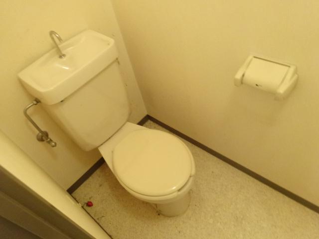セント・ルークルス 104号室のトイレ
