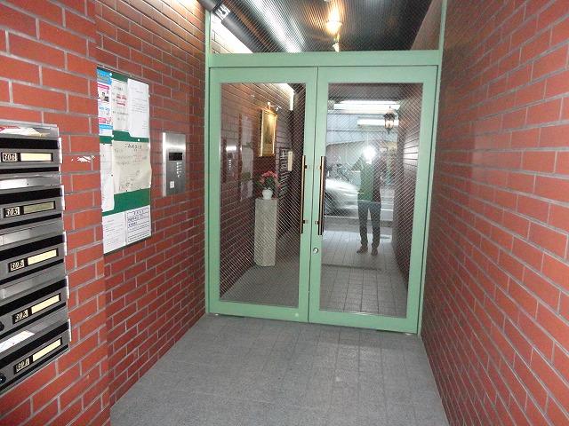 ジオコート桂 101号室のセキュリティ