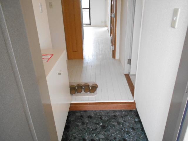 カーサグラン御池 705号室の玄関