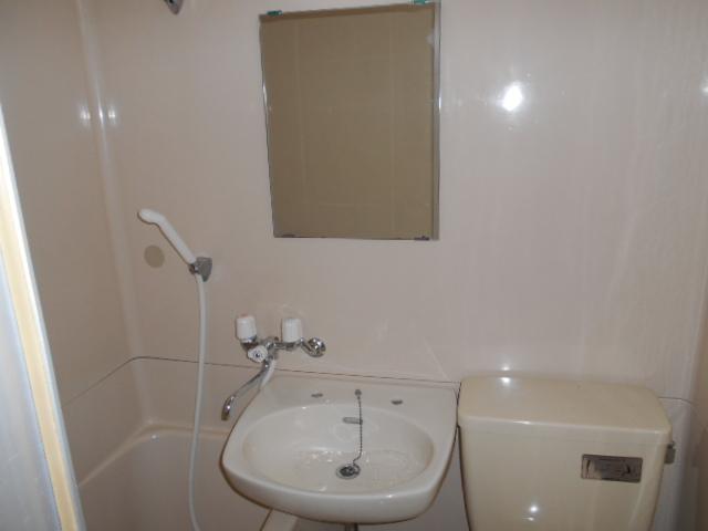 大隅ハイツ 3B号室の洗面所