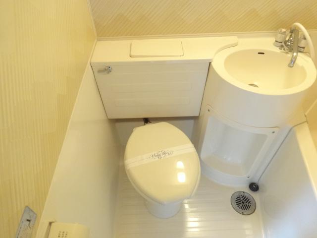 菱田ハイツ 302号室のトイレ